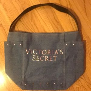 Victoria's Secret denim bag
